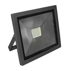 Προβολέας με led smd adeleq-lumen 50watt 230v μαύρος αλουμινίου στεγανός ip65 ψυχρό λευκό 6400Κ 5250lumen ΚΩΔ : 3-405010