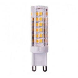 άμπα led diolamp g9 κεραμική 7watt 230v ψυχρό λευκό 6000Κ 650lumen δέσμης 360° ντιμαριζόμενη ΚΩΔ: G928357CWDIM