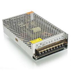 Τροφοδοτικό 120watt 10a μεταλλικό 230v/12vdc για ταινίες & λάμπες led μή στεγανό ip20 ΚΩΔ : SM-00145