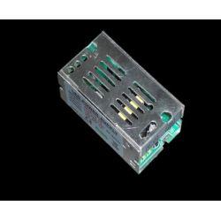 Τροφοδοτικό 12watt 1a μεταλλικό 230v/12vdc για ταινίες & λάμπες led μή στεγανό ip20 ΚΩΔ : SM-00100