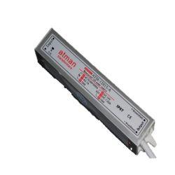 Τροφοδοτικό αδοάβροχο 15watt 1.25amper 230v/12vdc για ταινίες & λάμπες led στεγανό ip67 ΚΩΔ : SW-00100