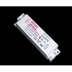 Τροφοδοτικό 20watt 830ma πλαστικό 230v/24vdc για ταινίες & λάμπες led μή στεγανό ip20 ΚΩΔ : SP-00220