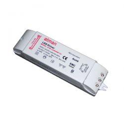 Τροφοδοτικό 40watt 3.3a πλαστικό 230v/12vdc για ταινίες & λάμπες led μή στεγανό ip20 ΚΩΔ : SP-00130