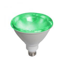 Λάμπα led diolamp par38 (κήπου) E27 10 watt 42v/ac δέσμης 45° 890lumen πράσινο φώς στεγανή ip65 Κωδικός : PAR3810GR42