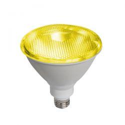 Λάμπα led diolamp par38 (κήπου) E27 10 watt 230v/ac δέσμης 45° 890lumen κίτρινο φώς στεγανή ip65 Κωδικός : PAR3810Y
