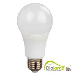 Λάμπα led diolamp τύπου αχλάδι Ε27 18watt 230v ψυχρό λευκό 6000Κ 1530lumen ΚΩΔ : A8018CW