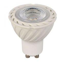 Λάμπα led cob gu10 8watt 230v/ac φυσικό λευκό φώς 4000k δέσμης 38° Ø50mm 560lumen Κωδικός : 8WGU10CNW