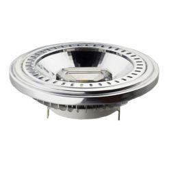 Λάμπα led ar111 g53 15watt 230v/ac ντιμαριζόμενη θερμό λευκό φως 2700k δέσμης 40° 730lumen Κωδικός : AR111-15WWDIM40