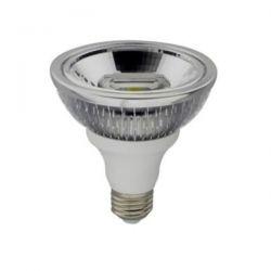 Λάμπα led par30 E27 15watt 230v/ac ντιμαριζόμενη ψυχρό λευκό φως 6500k δέσμης 40° 750lumen Κωδικός : PAR30-15CWDIM40