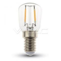 Λάμπακι led smd νυκτός filament v-tav Ε14 2watt 230v/ac θερμό λευκό 2700Κ 180lumen Κωδικός: 4444