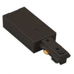Τροφοδοτικό ράγας 2 καλωδίων μαύρο για φωτιστικά σπότ ράγας Κωδικός : 2WTRB