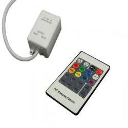 Mini controller RGB RF20 12V DC-24V DC με τηλεχειριστήριο για λωρίδες Led RGB sku: RF20