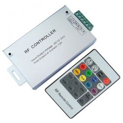 Controller RGB RFL20 12V DC-24V DC με τηλεχειριστήριο για λωρίδες Led RGB sku: RFL20
