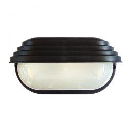 Φωτιστικό χελώνα μαύρη πλαστική με σκίαστρο  (ντουί ε27) sku : 13-0006
