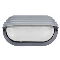 Φωτιστικό χελώνα γκρί πλαστική με σκίαστρο (ντουί ε27) sku : 13-0009