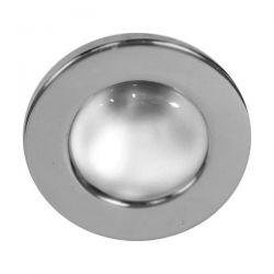 Φωτιστικό σπότ μπαλκονιού χωνευτό γκρί μεταλλικό με ντουί Ε27 R80 sku: AC.045R80G