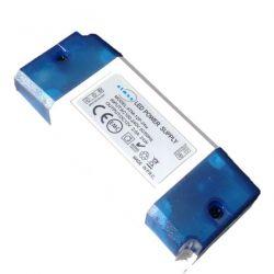 Τροφοδοτικό 24watt 2.amper πλαστικό 230v/12vdc για ταινίες & λάμπες led μή στεγανό ip20 ΚΩΔ : SP-00024
