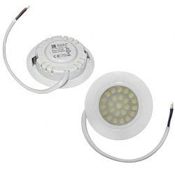 Σποτ Κουζίνας LED Χωνευτό 4W 240V Με SMD led chip Δέσμη 60° Λευκό Πλαστικό Σώμα Αδιάφανο κάλυμμα φυσικό φως 4000k 420lumen sku: 21-410