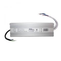 Τροφοδοτικό - led driver 300W 230V στα 12VDC για ταινίες & λάμπες LED μεταλλικό στεγανό IP67 sku: WF300CV12