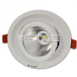 Φωτιστικό οροφής Led στρογγυλό  22 watt  220-240v GREE chip ψυχρό λευκό 5000Κ