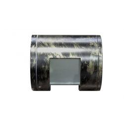 Φωτιστικό σπότ αλουμινίου στεγανό ip54 σταθερό μονής κατεύθυνσης 180° για λάμπες Led G9 rust πατίνα