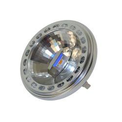 Λάμπα Led AR111 με 1 Led 15watt AC/DC12V Δέσμη 20° Ψυχρό λευκό 6000Κ 780 lumen