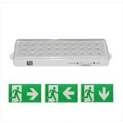 Φωτιστικό ασφαλείας led συνεχούς λειτουργίας με 30led & μπαταρία Li-ion 3.7V 2.0Ah 4000k λευκό φως Κωδικός : 4-68300