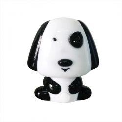 Παιδικό φωτιστικό νυκτός μαύρο σκυλάκι led 0.4w 230v 6000k ψυχρό λευκό απο πλαστικό aca-decor Κωδικός : 82204LEDBK