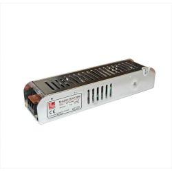 Τροφοδοτικό led-driver αλουμινίου μίνι για ταινίες & λάμπες led 120w 240v/12vdc Κωδ : 30-033612120
