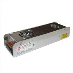 Τροφοδοτικό led-driver αλουμινίου μίνι για ταινίες & λάμπες led 250w 240v/12vdc Κωδ : 30-033612250