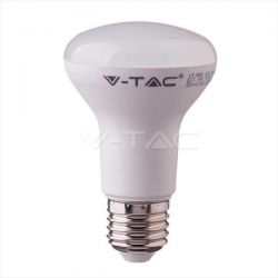 Λάμπα led v-tac χωνευτή R63 Ε27 8watt 230v/ac ψυχρό λευκό 6400Κ 570lumen με samsung chip Κωδικός: 143