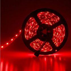 Led ταινία 14.4W 24vdc κόκκινο φως IP65 στεγανή εύκαμπτη & αυτοκόλλητη Κωδ: LS65-00302