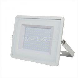Προβολέας led v-tac με samsung chip 100w 230v λευκό σώμα ψυχρό λευκό 6400Κ 8000lm Κωδικός: 417