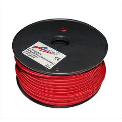 Καλώδιο Κορδόνι Διακοσμητικό κόκκινο Εύκαμπτο 2x0.50mm2 Κωδ: 9-025046