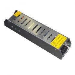 Τροφοδοτικό mini 100W 8A μεταλλικό 230V στα 12VDC για ταινίες & λάμπες led μη στεγανό IP20 Κωδικός: SM-00260