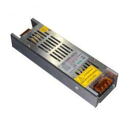 Τροφοδοτικό mini 200W 16A μεταλλικό 230V στα 12VDC για ταινίες & λάμπες led μη στεγανό IP20 Κωδικός: SM-00280