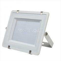 Προβολέας led v-tac με samsung chip 300w 230v λευκό σώμα ψυχρό λευκό 6400Κ 24000lm Κωδικός: 487