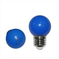 Λάμπα led adeleq σφαιρική g45 Ε27 2watt 230v μπλέ χρώμα Κωδικός: 13-27024