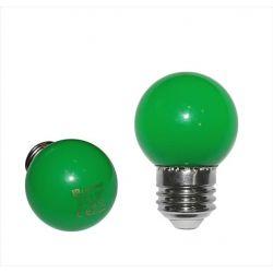 Λάμπα led adeleq σφαιρική g45 Ε27 2watt 230v πράσινο χρώμα Κωδικός: 13-27025