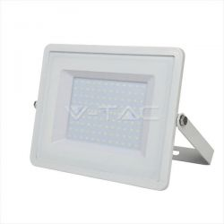 Προβολέας led v-tac με samsung chip 150w 230v λευκό σώμα θερμό λευκό 3000Κ 12000lm Κωδικός: 478