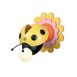 Φωτιστικό απλίκα κίτρινη μέλισσα aca-decor 2018 150mm με ντουί ε27 Κωδικός : ZN170161WY