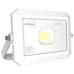 Προβολέας led atman 20w 230v white ψυχρό λευκό 6000κ 2200lm Κωδικός: FL-K-00020-L