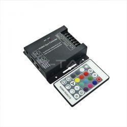 LED Controller RGB/W-WW με χειριστήριο BF 24 κουμπιών 288w/12v-576w/24v Κωδικός: 3338