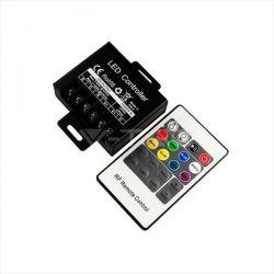 LED Controller RGB με χειριστήριο RF 20 κουμπιών mini Κωδικός: 3340