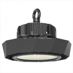LED Καμπάνα μαύρη UFO Samsung SMD 120W 6400K Λευκό 120° Meanwell High Lumens 180lm/W Κωδικός: 569