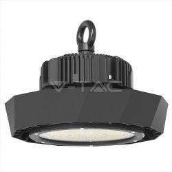 LED Καμπάνα μαύρη UFO Samsung SMD 120W 4000K φυσικό λευκό 120° Meanwell High Lumens 180lm/W Κωδικός: 568