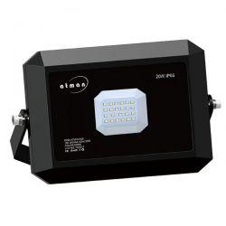 Προβολέας led atman 20w 230v black θερμό λευκό 3000κ 2200lm Κωδικός: FL-K-00023