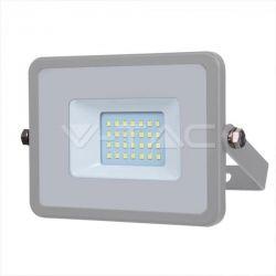 Προβολέας led v-tac με samsung chip 20w 230v γκρί σώμα θερμό λευκό 3000Κ 1600lm Κωδικός: 446