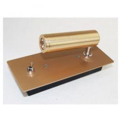 Απλίκα led aca-decor 2018 3w 230v σε απόχρωση σκούρο χρυσό 4000Κ 55mm Κωδικός: 151BMG