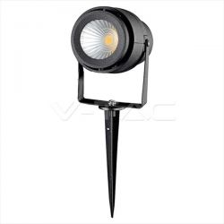 LED αδιάβροχο φωτιστικό καρφί 12v 230v ip65 πράσινος φωτισμός με μαύρο σώμα Κώδ:7546